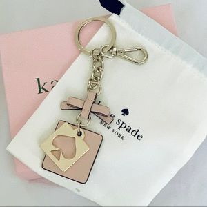 Kate Spade Pale Pink FOB Keychain